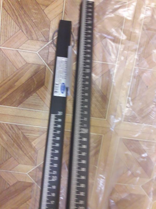 Метрошток  чорний МШІ 3,5 м. (2 ланки)